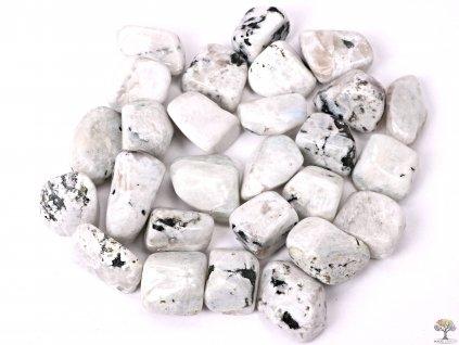 Tromlované kamínky Měsíční kámen bílý XXL - o velikosti 30 - 50 mm - 500g - Brazílie  + až 10% sleva po registraci