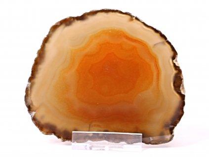 Achátový plát - velikost 9 cm + stojánek #505 -  Top kvalita  + sleva 5% po registraci na většinu zboží + dárek k objednávce