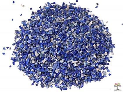 Tromlované kamínky Lapis Lazuli XXS o velikosti 6 - 12 mm - 100g - Brazílie  + až 10% sleva po registraci
