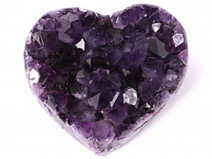 Ametyst drúza Srdce - Top kvalita - 370g #22  + sleva 5% po registraci na většinu zboží + dárek k objednávce