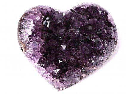 Ametyst drúza Srdce - Top kvalita - 270g #64  + sleva 5% po registraci na většinu zboží + dárek k objednávce