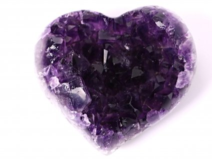 Ametyst drúza Srdce - Top kvalita - 250g #67  + sleva 5% po registraci na většinu zboží + dárek k objednávce