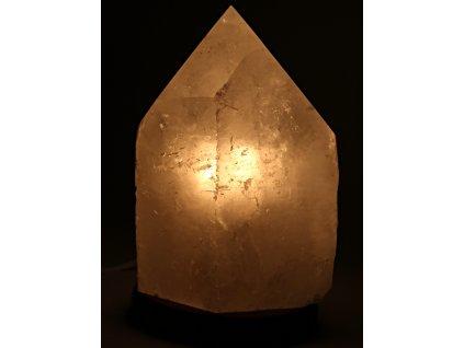 Křišťál přírodní špice 7.2 kg - lampa ze surového křišťálu #01