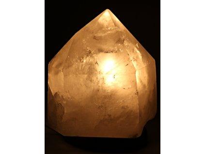 Křišťál přírodní špice 6.7 kg - lampa ze surového křišťálu #02  + sleva 5% po registraci na většinu zboží + dárek k objednávce