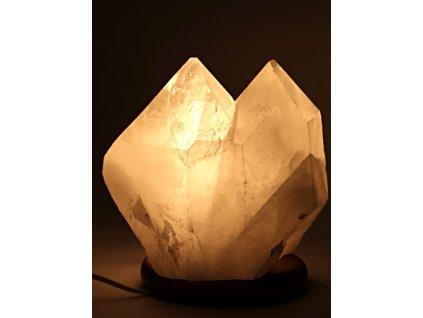 Křišťál přírodní špice 7.5 kg - lampa ze surového křišťálu #03  + sleva 5% po registraci na většinu zboží + dárek k objednávce