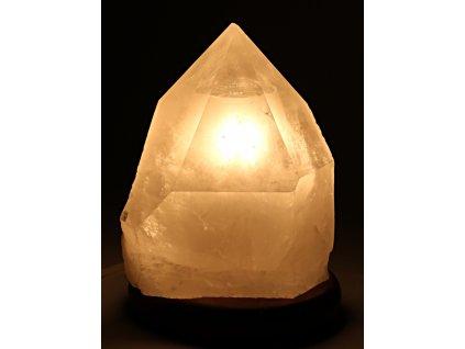 Křišťál přírodní špice 2.7 kg - lampa ze surového křišťálu #04  + sleva 5% po registraci na většinu zboží + dárek k objednávce