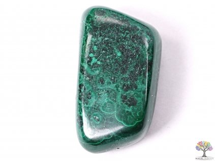 Tromlovaný kámen Malachit L o velikosti 20 - 30 mm - 1 ks - Maroko