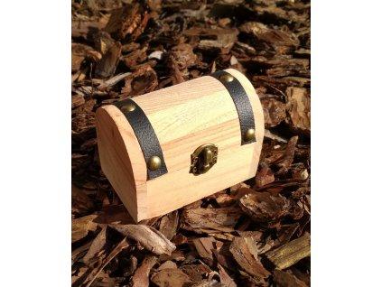 Magická truhlička ze dřeva - #06