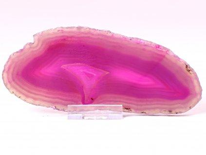Achátový plát - velikost 15 cm + stojánek - Top kvalita - 666  + až 10% sleva po registraci