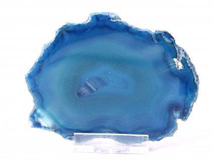 Achátový plát - velikost 9 cm + stojánek #834 -  Top kvalita  + až 10% sleva po registraci