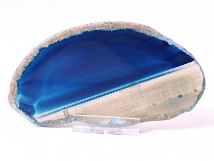Achátový plát - velikost 12 cm + stojánek #859 -  Top kvalita  + až 10% sleva po registraci