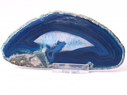 Achátový plát - velikost 14 cm + stojánek - Top kvalita - 864  + sleva 5% po registraci na většinu zboží + dárek k objednávce