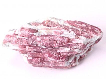 Rubelit surový 290g #28 - TOP kvalita - růžový turmalín