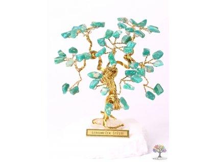 Amazonitový stromeček štěstí 9 cm - R3 - #181  + až 10% sleva po registraci