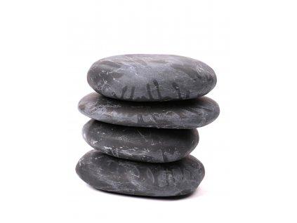 Lávové masážní kameny - hmatky 4 ks - 1.060 kg #14  + až 10% sleva po registraci