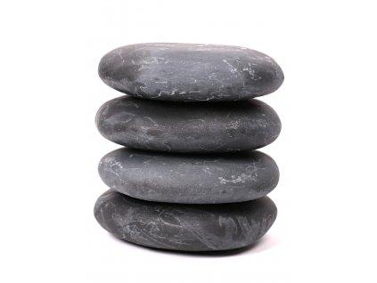 Lávové masážní kameny - hmatky 4 ks - 1.160 kg #15  + až 10% sleva po registraci
