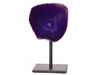 Achát drúza na stojánku 1.120 Kg #324 - Top kvalita  + až 10% sleva po registraci