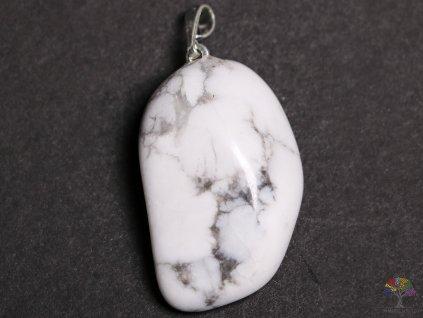 Přívěsek z kamene Magnezit vel. M - #33