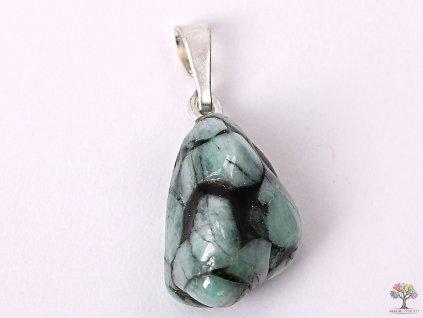 Přívěsek z kamene Smaragd vel. S - #35  + až 10% sleva po registraci