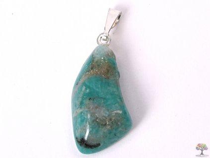Přívěsek z kamene Amazonit vel. S - #40  + až 10% sleva po registraci