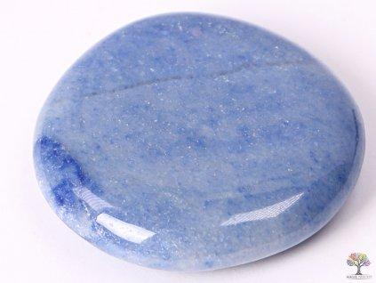 Hmatka Křemen modrý 45 - 50 mm #51 placička