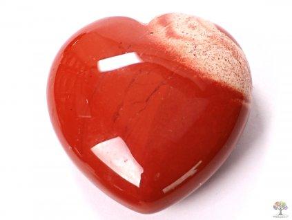 Srdce Jaspis červený 40x40 mm - Jaspisové srdce  #15  + až 10% sleva po registraci