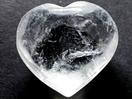 Srdce křišťál - průzračné 52g - konkrétní #28  + až 10% sleva po registraci