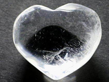 Srdce křišťál - průzračné 41g - konkrétní #31  + až 10% sleva po registraci