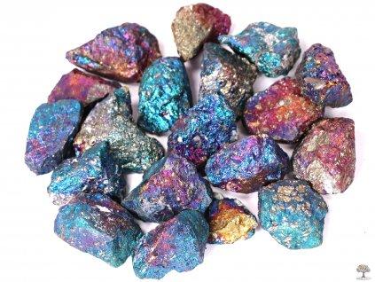 Chalkopyrit surový 3 - 4 cm TOP kvalita  + až 10% sleva po registraci