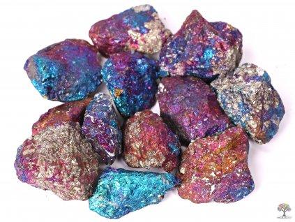 Chalkopyrit surový 4 - 6 cm TOP kvalita