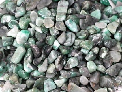 Tromlované kamínky Smaragd XS velikost 10 - 20 mm  - Brazílie