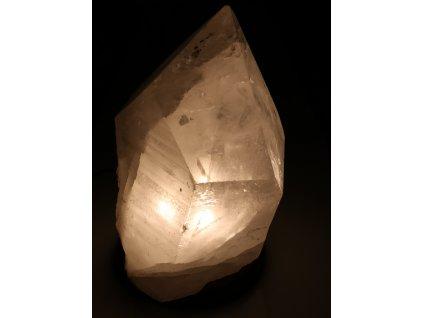Křišťál přírodní - LAMPA - lampa ze surového křišťálu - 12.40 kg