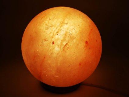 Solná lampa elektrická koule 3 - 6 Kg - planeta