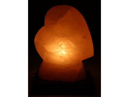 Solná lampa elektrická Srdce 2.420 Kg #45