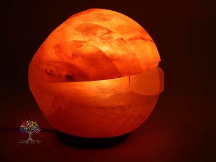Solná lampa elektrická Mušle s perlou 2.860 Kg #107