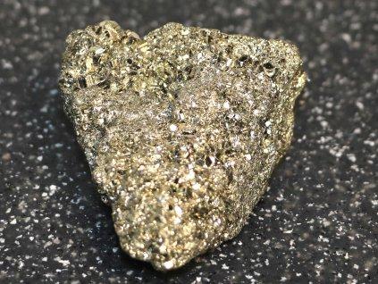 Pyrit přírodní - surový - 0.128 kg - #10