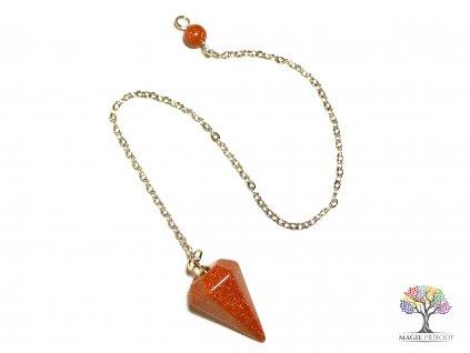 Kyvadlo Avanturín - věštecké kyvadélko z kamene #1
