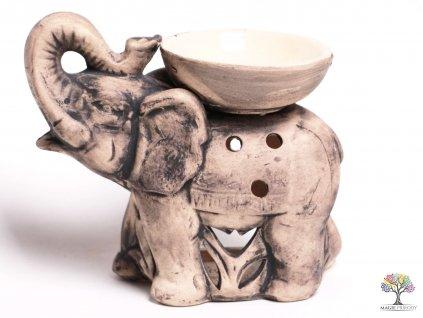 Aroma lampa keramická velký slon 19