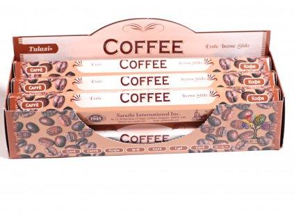 Vonné tyčinky Tulasi Coffee - vůně Káva - 20 ks - #21  + až 10% sleva po registraci