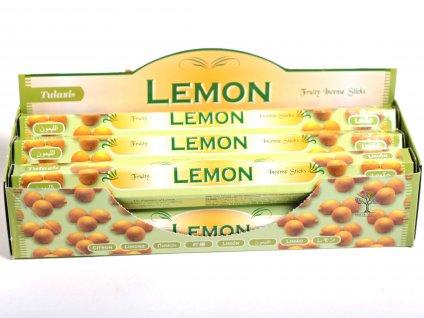 Vonné tyčinky Lemon - vůně Citrón - 20 ks - #22