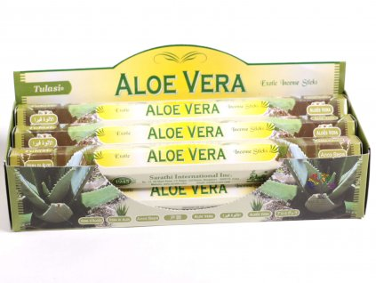 Vonné tyčinky Tulasi Aloe Vera - vůně Aloe - 20 ks - #25  + sleva 5% po registraci na většinu zboží + dárek k objednávce