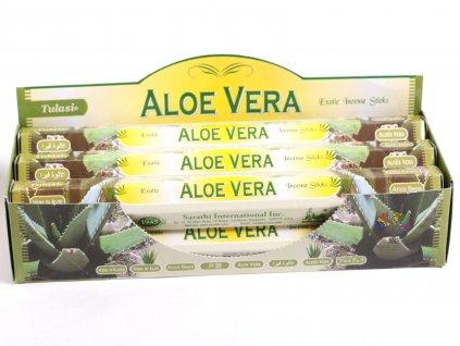 Vonné tyčinky Tulasi Aloe Vera - vůně Aloe - 20 ks - #25  + až 10% sleva po registraci