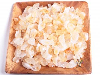 Citrín surový 2 - 7 cm - TOP kvalita 500 g