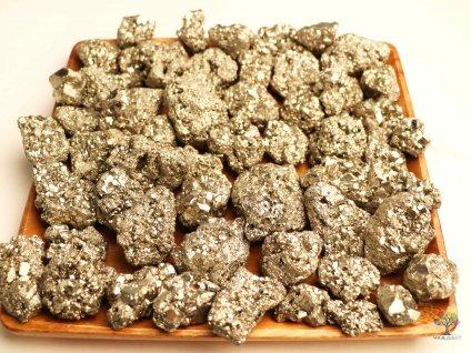 Pyrit přírodní na váhu - 500 g