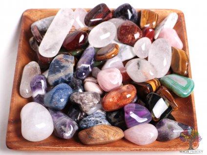 Tromlované kamínky XXL - kameny o velikosti 35 - 105 mm - 500 g