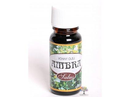 Esenciální vonný olej Ambra 10 ml #21 - do aromalampy - koupele - potpourri