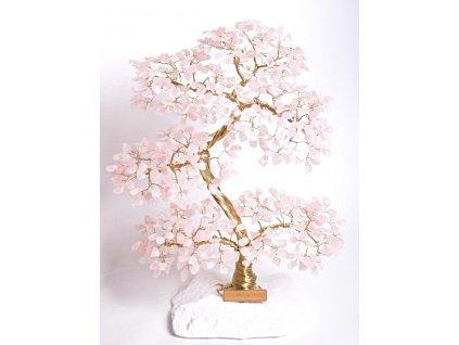 Růženínový stromeček štěstí 35 cm + dárkové balení #63