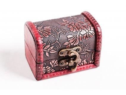 Magická dřevěná truhlička - #01 - Indie  + sleva 5% po registraci na většinu zboží + dárek k objednávce