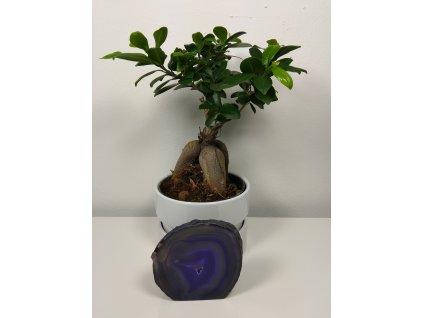 Achát fialový 10 - 0,48 kg