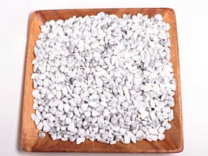 Tromlované kamínky Magnezit S - kameny o velikosti 15 - 25 mm - 500 g - Brazílie